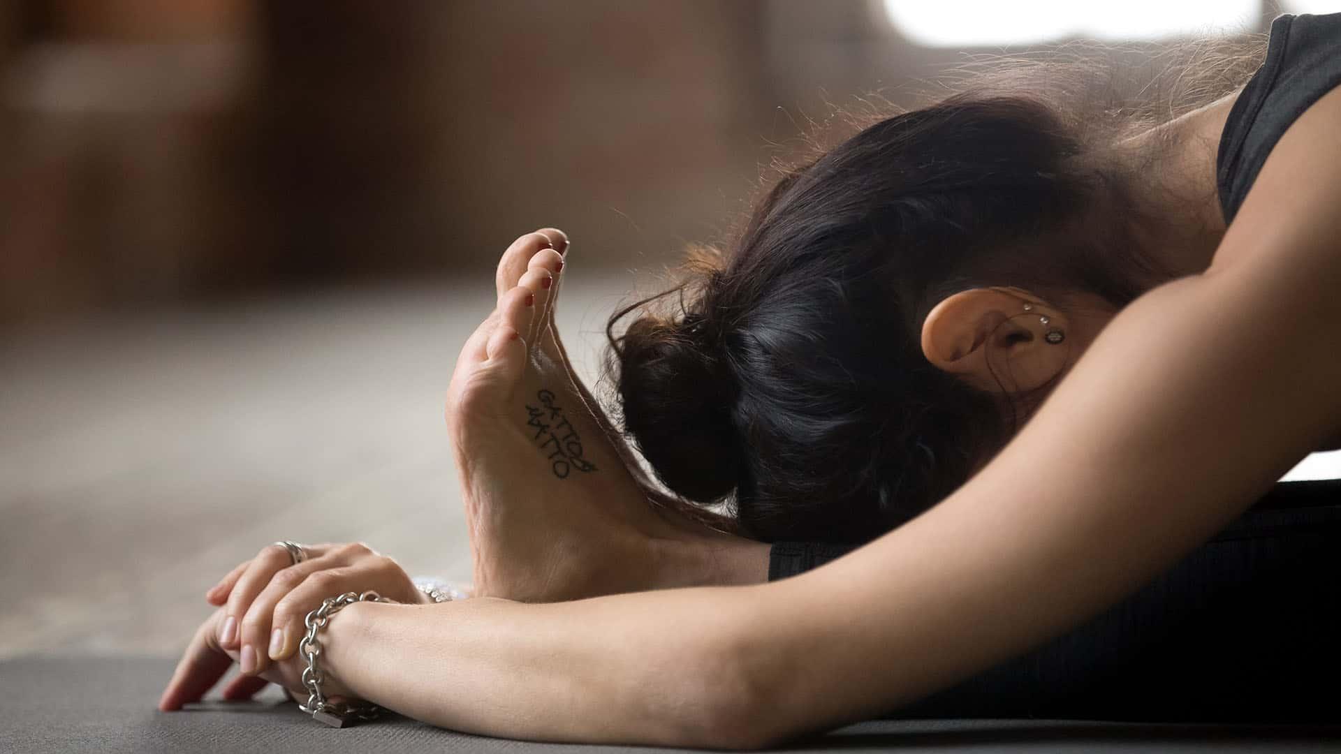 Releasing emotions through Yoga