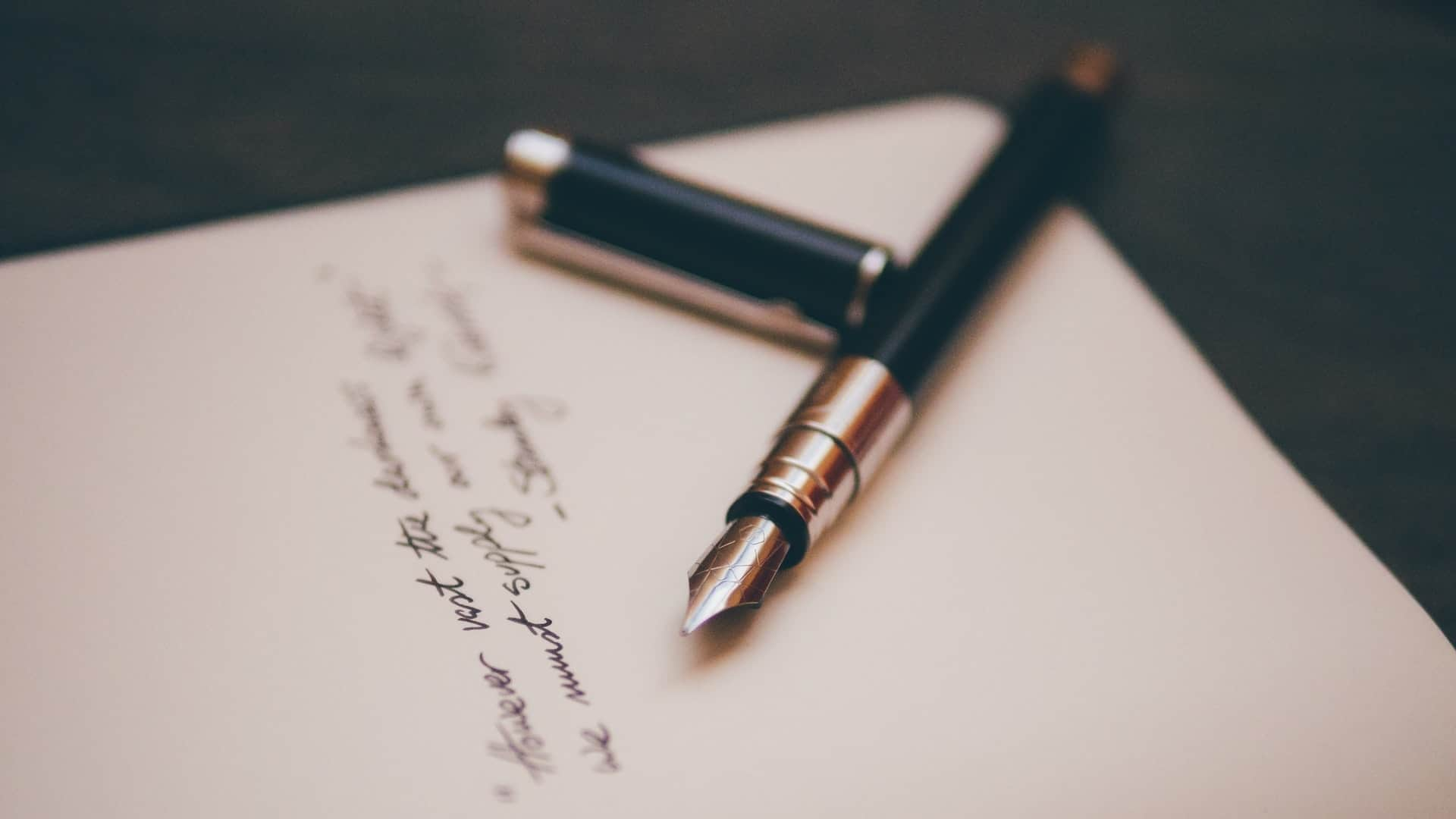 A Letter to Friends