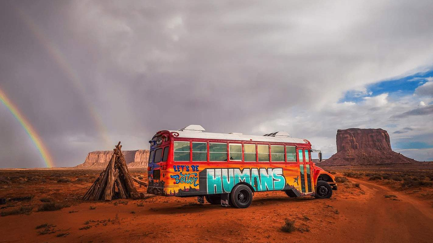 Let's Be Better Humans - Magic Bus