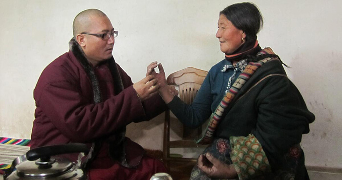 Tibetan medicine was practiced throughout the Tibetan Plateau, Himalayas and Central Asia.