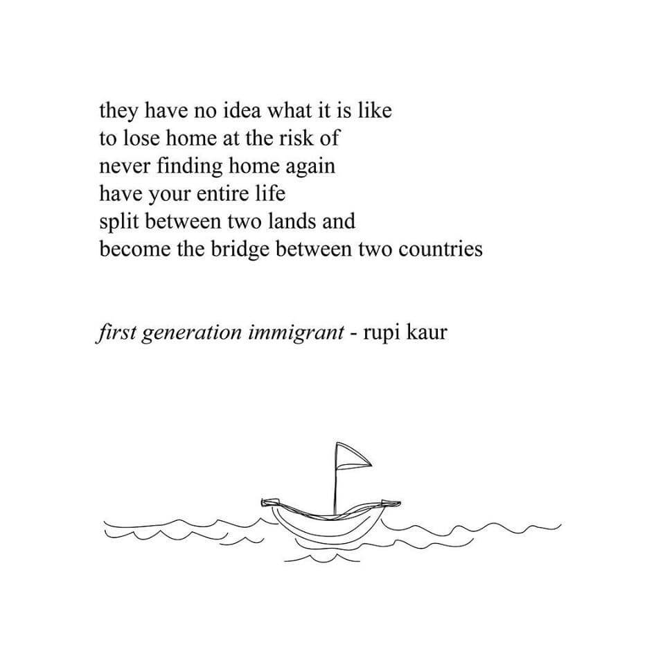 First generation immigrant