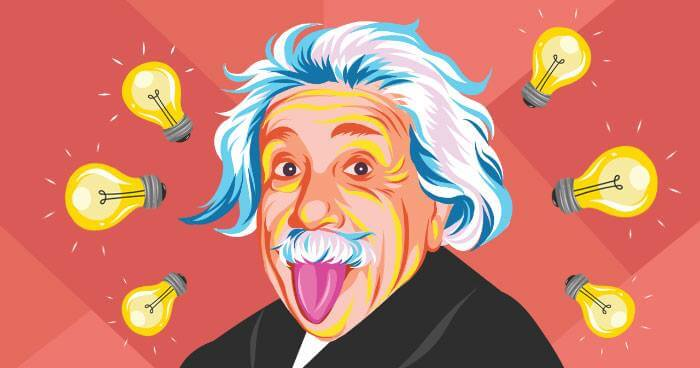 Albert Einstein came up with the theory of relativity while relaxing in his bath tub.