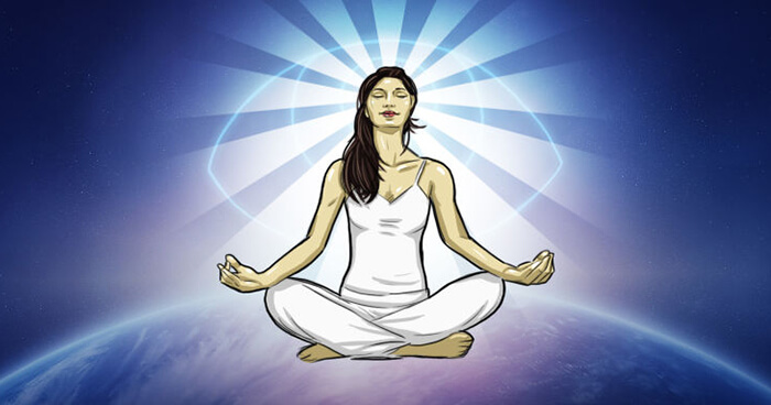 There are many forms of meditation but all promote the quieting or calming of the mind.