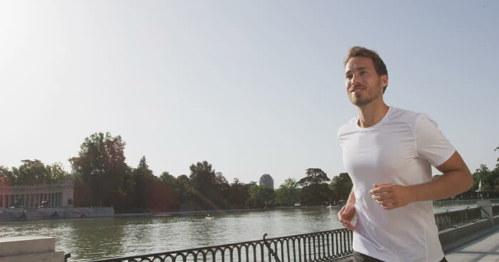 Jogging is a great way to get your brain juices flowing