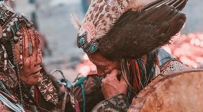 Mongolian shaman ancestry