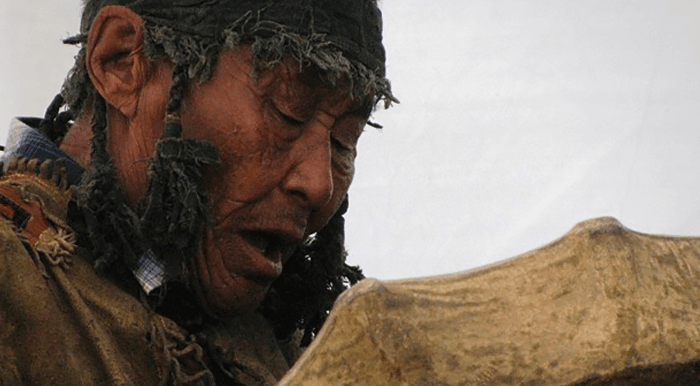 Mongolian shaman singing