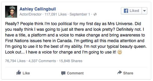 Ashley Callingbull post