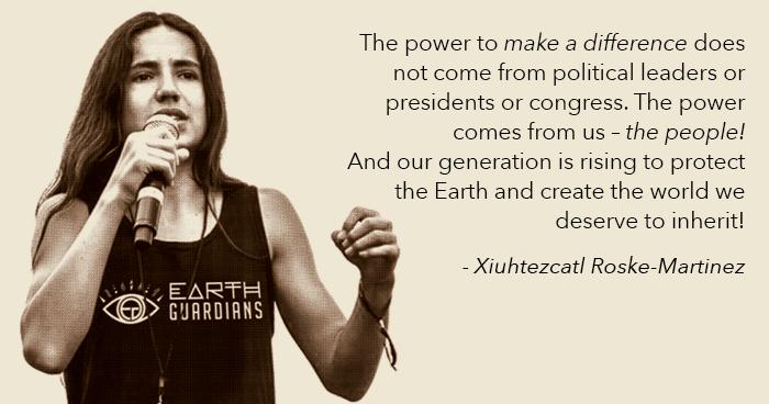 Xiuhtexcatl quote