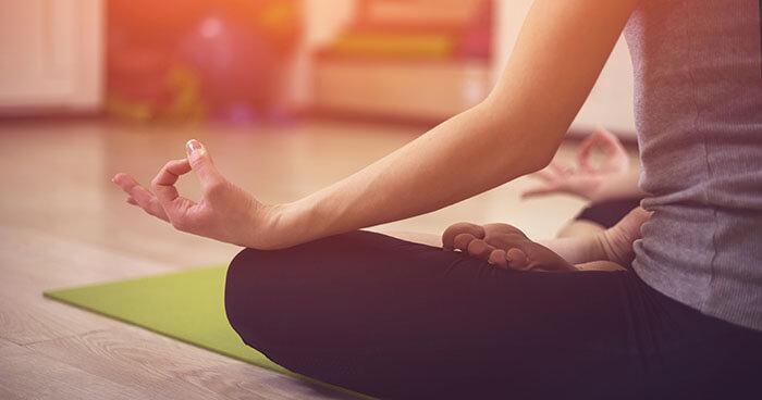 Disassociation through meditation practice