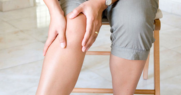 Nerves fired and my calf muscles began to perform flexion and extension exercises independently of my conscious control.