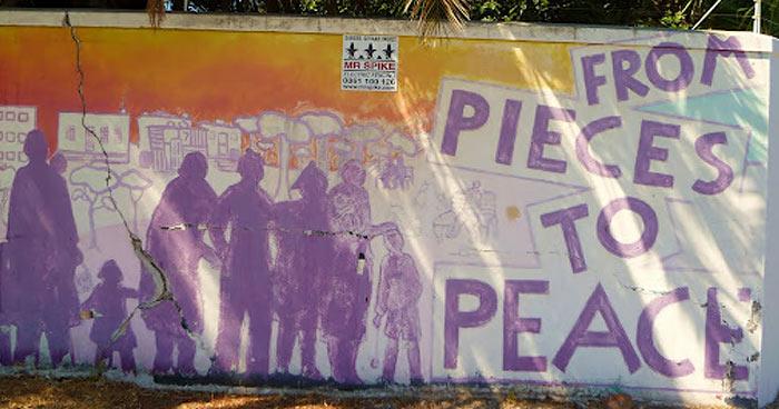 Peace graffiti