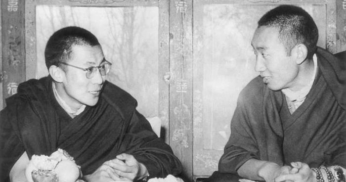 Dalai Lama and the Panchen Lama