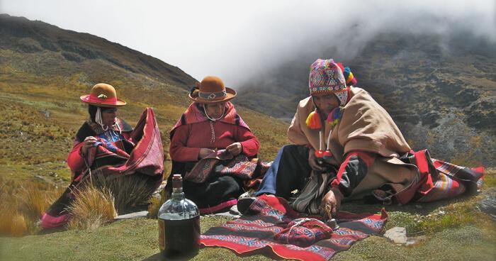 Peruvian 'Despacho' ceremony