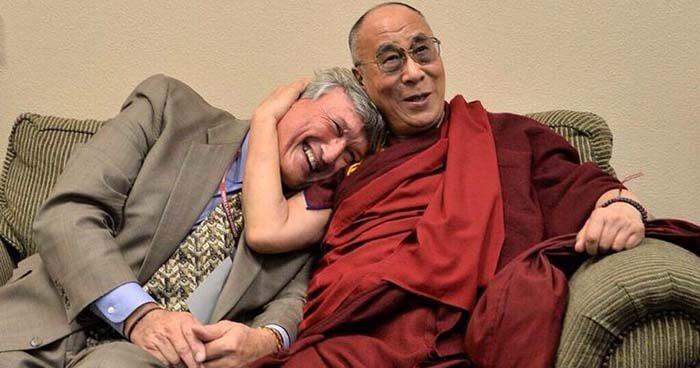 Dr. Doty with the Dalai Lama.
