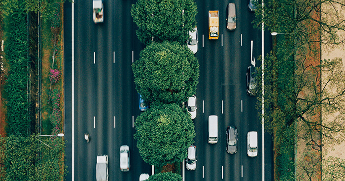 We are not the passing traffic, but the space in which the traffic flows.