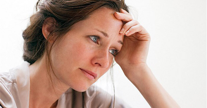 A person with depression often looks and acts sick.