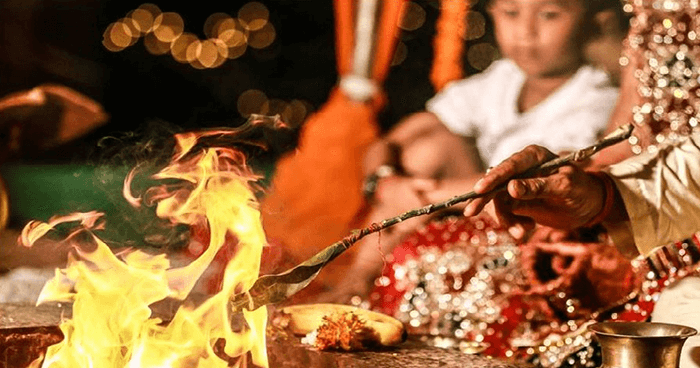 Yajna is a sacred Hindu fire ceremony