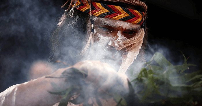 Smoking ceremonies use native plants for cleansing