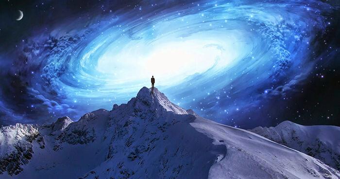 Alone in an alien universe