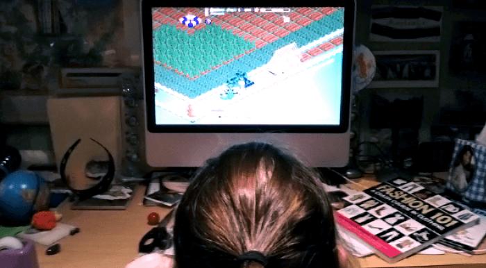 Playing Farmville