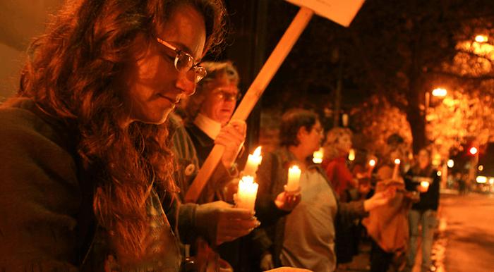 Antiwar vigil