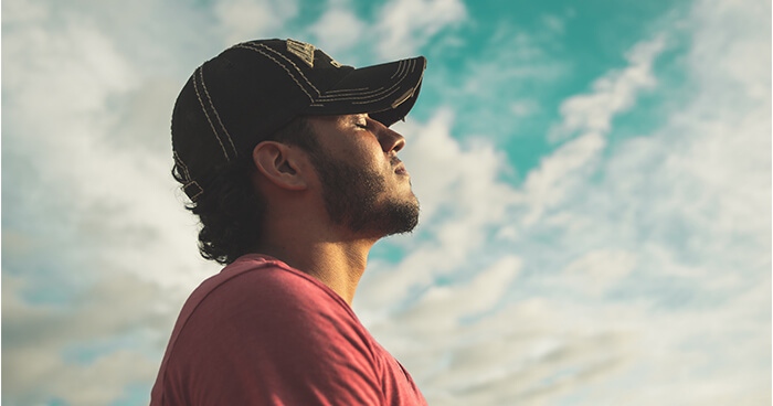 Breathing techniques help you to recalibrate