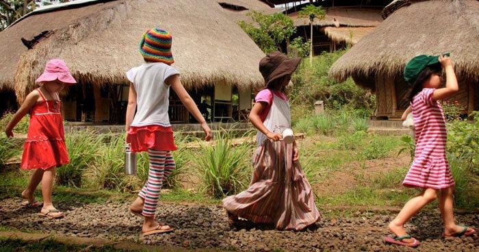 Children at Green School