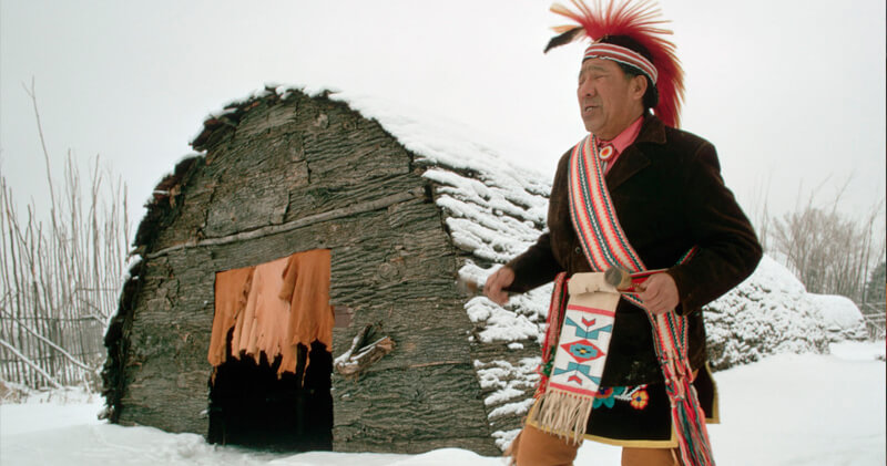 Iroquoi longhouse