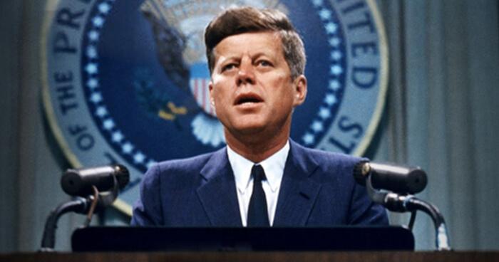 John F. Kennedy was Pitta.