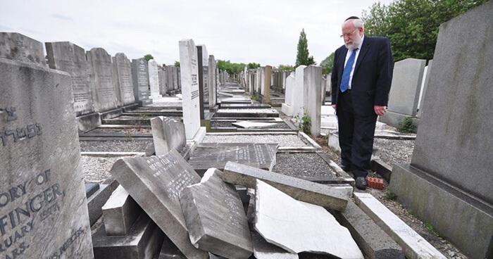 Jewish cemetery attacks