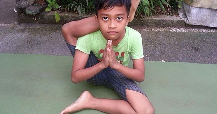 Yoga improves children's overall health