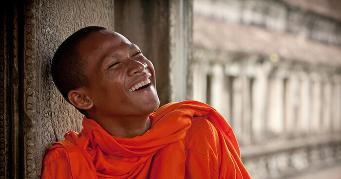 The idea comes from the first noble truth of Buddhism which says that desire causes suffering