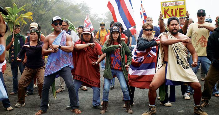 Protectors of Mauna Kea, Hawai'i