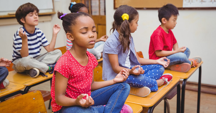 Mindfulness practice can take place anywhere