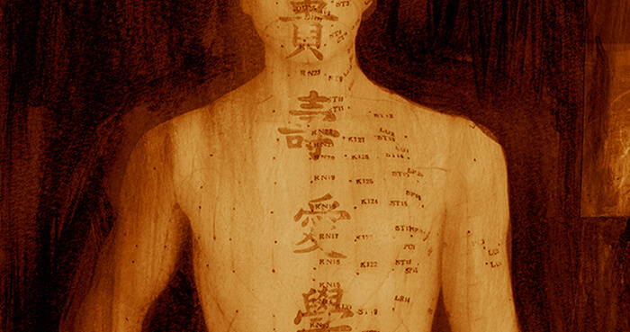 The map of acupuncture points was created by Chinese healing practitioners nearly 2000 years ago