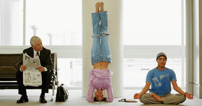 Travelling meditators