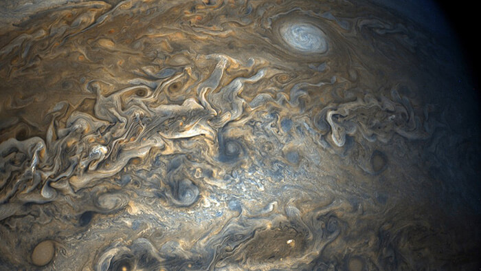 Jupiter's surface