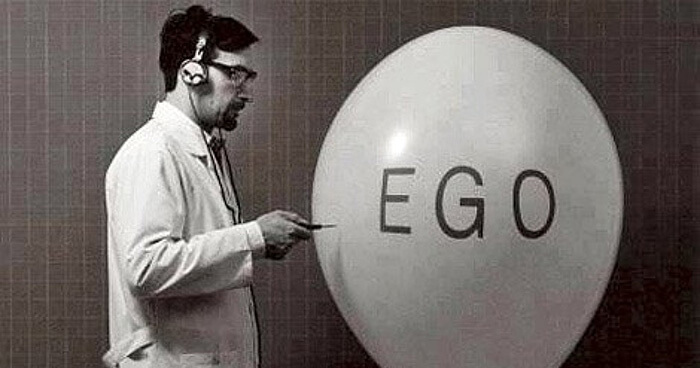 Popping the ego