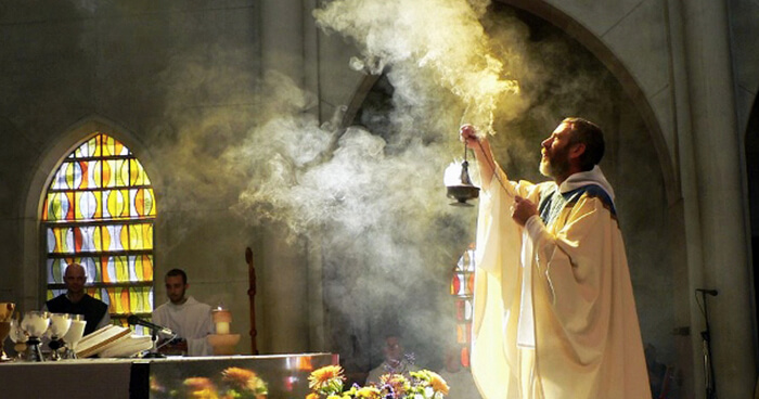 Frankincense to purify and sanctify