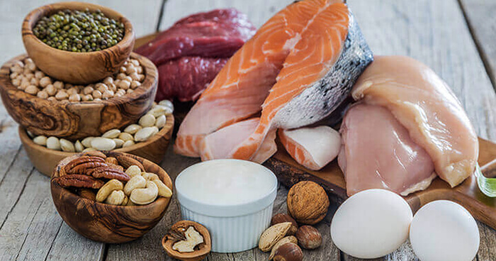 Eat protein and healthy fats