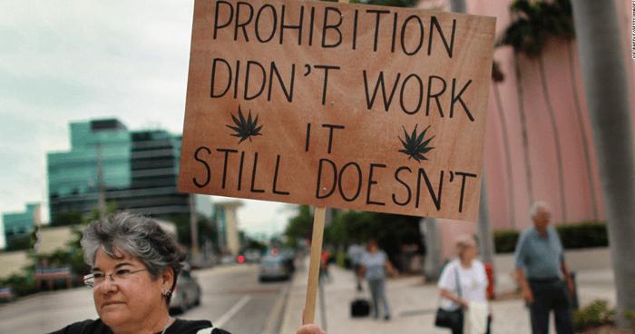 Prohibition protest