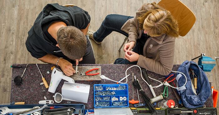 The decline of repair skills