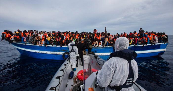 Refugee Rescue Boat