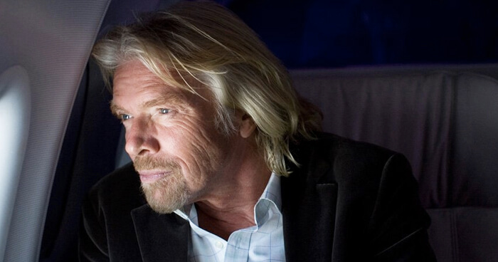 Richard Branson dropped out of high school