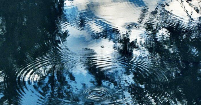 Like ripples