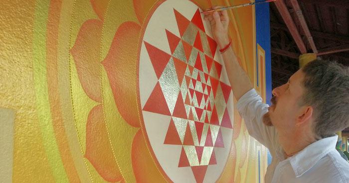 Ekhabumi painting mural
