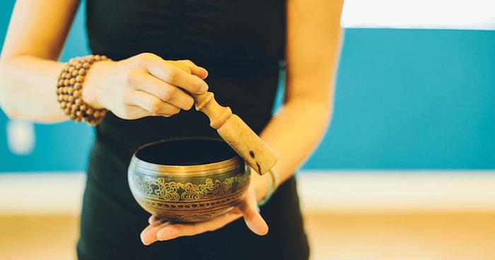 Sound has a healing vibration