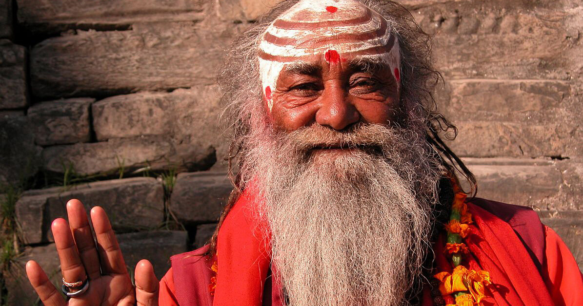 in ancient India there was a clear dividing line between a worldly person a spiritual person