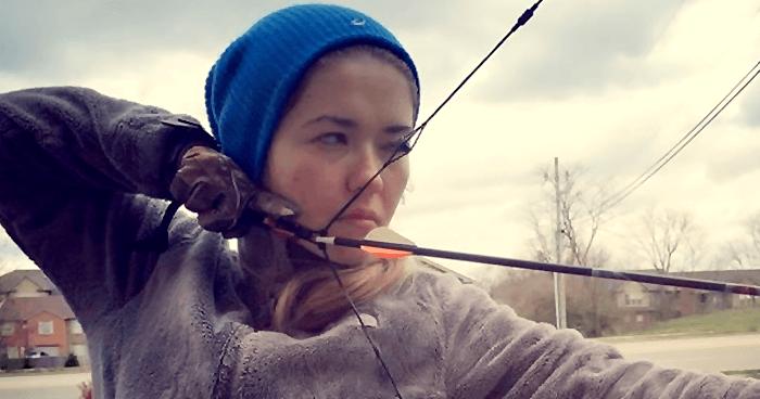 Training archery