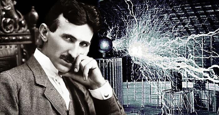 Max's hero, Nikola Tesla, has been dubbed the Father of Free energy.